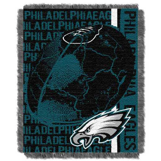 1NFL019030011RET: NFL Double Play Jacquard Throw, Eagles